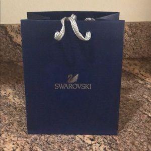 Swarovski shopping bag